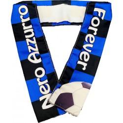 FASCIA SPORT 100x8 cm.  Nero - Azzurro