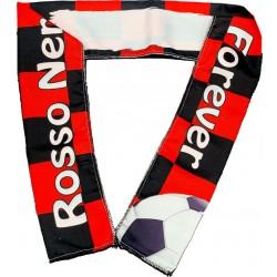 FASCIA SPORT 100x8 cm.  Rosso - Nero