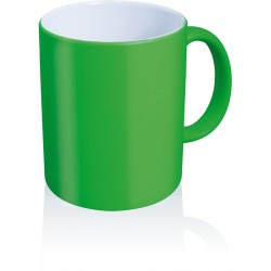 Tazza FLUO in ceramica 11 OZ.Verde
