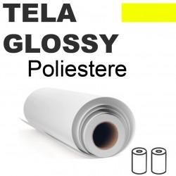 Tela Premium Glossy Poly Canvas 280gr 111,8cm x 20,25mt