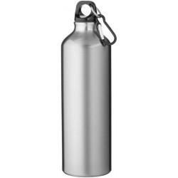 Borraccia con Moschettone in Alluminio 750 ml. H 25 cm. Ø 7,3 cm.