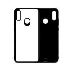 Cover in SILICONE Huawei P SMART 2019 con inserto in alluminio