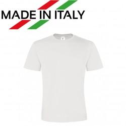 T-Shirt Tg. L Uomo Poliestere 100% effetto cotone