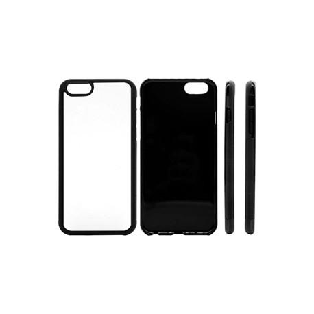Cover in Silicone  I-Phone 6 con inserto in alluminio sublimatico