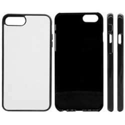 Cover in TPU SOFT  I-Phone 7 con inserto in PVC sublimatico