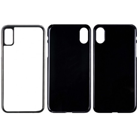 Cover in Silicone  I-Phone 7 Plus con inserto in alluminio sublimatico
