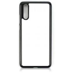 Huawei P20 Cover in Silicone con inserto in alluminio sublimatico