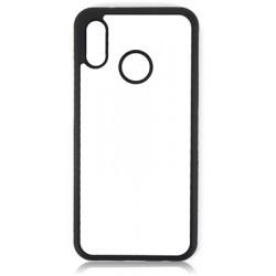 Huawei P20 LITE Cover in Silicone con inserto in alluminio sublimatico