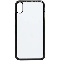 Cover in TPU  I-Phone XR con inserto in alluminio sublimatico