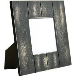 Western Frame 18x18 cm. con inserto in Alluminio 9x9 cm. angoli arrotondati