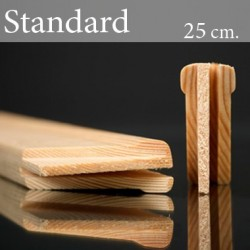 Barre in Legno per Telai Standard  25 cm.
