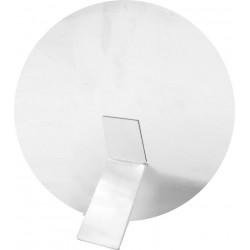 Cornice ALLUMINIO TONDO Ø 20 cm. con Base D'appoggio