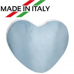 Federa CUSCINO CUORE Bicolore Bianco/Azzurro 40x40 cm.