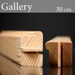 Barre in Legno per Telai Gallery  30 cm.