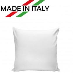 Federa MICROFIBRA Bicolore Bianco/Bianco 40x40 cm. Poliestere 100%