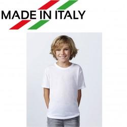 T-Shirt ROLY Bambino 5/6 anni Poliestere 100% effetto cotone