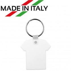 Portachiavi PVC Forma T-Shirt in Poliestere 4,5x4,5 cm.