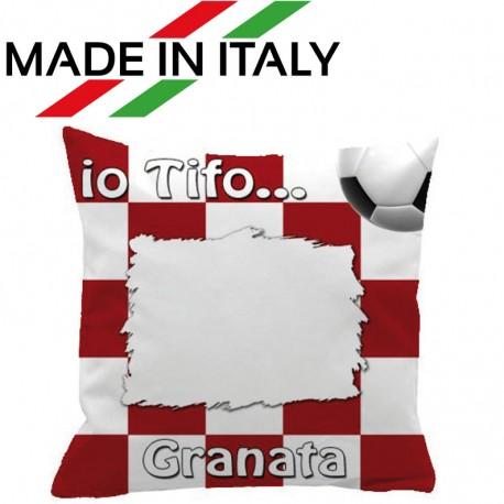 Federa SPORT Granata Full Print 40x40 cm. Poliestere 100%