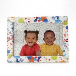 Cornice in Cartoncino colorato per Puzzle 10x15 cm.