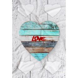 Coperta Love 02 in Pail Prestampato 100x150 cm.