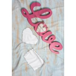Coperta Love 03 in Pail Prestampato 100x150 cm.