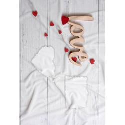 Coperta Love 05 in Pail Prestampato 100x150 cm.