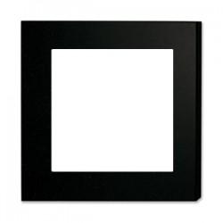Pannello in Legno 50x50 cm. Spessore 16 mm. con 1 Lastra in Alluminio  30x30 cm. Bianco Lucido e Distanziatore