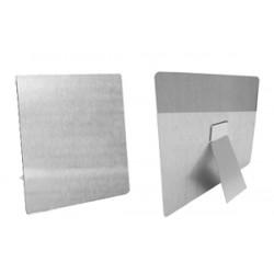 Tecno Frame 15x15 cm. Alluminio Sublimatico con Base D'appoggio