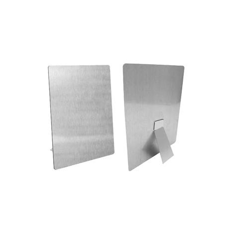Tecno Frame 20x30 cm. Alluminio Sublimatico con Base D'appoggio