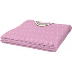 Plaid Poliestere Pail Pink Ligth 70x100 cm.