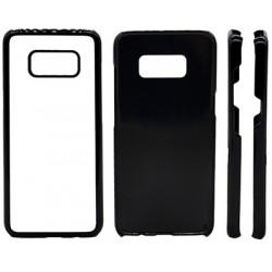 Cover in Silicone Samsung S8 con inserto in alluminio sublimatico
